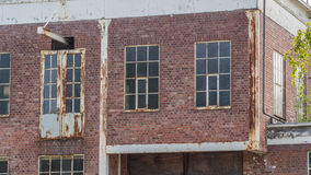 Whale oil refinery windows Royalty Free Stock Image
