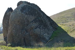 Whale Rock. Large Rock Formation,San Benito Mountains, Paicines, California Royalty Free Stock Photo