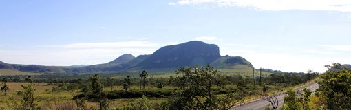 Whale`s hill. The whale`s hill is located in the Brazilian cerrado Royalty Free Stock Images