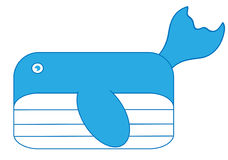 Whale Vector Stock Image