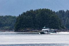 Whale Watching Boat Royalty Free Stock Photos