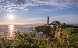 Whaleback Leuchtturm Stockfotografie