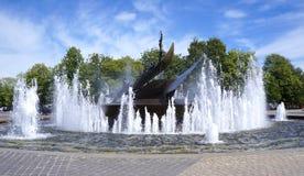 Whaler's-Monument, Sandefjord, Norwegen lizenzfreie stockfotos