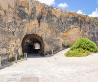 Whaler's Tunnel: Fremantle, Western Australia stock photography