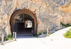 Whaler's Tunnel in Limestone: Fremantle, Western Australia Royalty Free Stock Photo