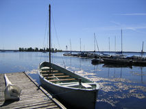 Whalerboot Stockfoto