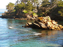 Whalers Cove Point Lobos Park Stock Images