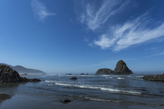 Whaleshead strand på den Oregon kusten Arkivbilder