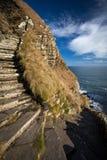 Whaligoe steps, Highlands of Scotland royalty free stock photo