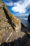 Whaligoe steps, Highlands of Scotland royalty free stock images
