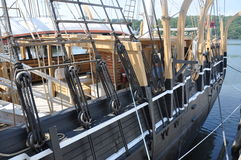 Whaling ship boat. Close up of a whaling ship Royalty Free Stock Images