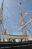 Whaling ship boat. Close up of a whaling ship Stock Photos
