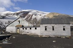 Whaling station, antarctica Stock Image