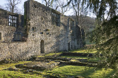 Whalley abbotskloster, Lancashire royaltyfri bild