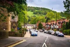 Whalley Clitheroe Lancashire UK royaltyfri foto