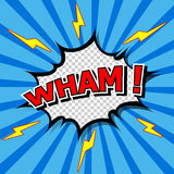 Wham! Lizenzfreies Stockfoto