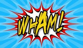 ¡Wham! Imágenes de archivo libres de regalías