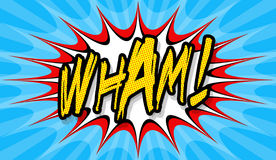 Wham! Royalty-vrije Stock Afbeeldingen