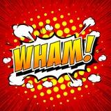 Wham! - Comic Speech Bubble, Cartoon Stock Images