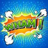 Wham! - Comic Speech Bubble, Cartoon Royalty Free Stock Images