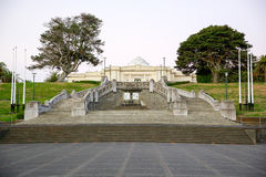 WHANGANUI, ΝΕΑ ΖΗΛΑΝΔΊΑ - 19 ΦΕΒΡΟΥΑΡΊΟΥ 2015: Κτήριο στοών Sarjeant Στοκ φωτογραφία με δικαίωμα ελεύθερης χρήσης