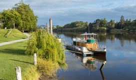 Whanganui Steam Boat Area Royalty Free Stock Photography