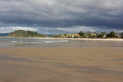 Whangapoua Beach Coromandel New Zealand. Whangapoua Beach Coromandel Peninsula New Zealand Royalty Free Stock Photo