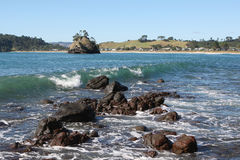 Whangapoua, New Zealand. The coastal town of Whangapoua, Coromandel Peninsular, New Zealand Royalty Free Stock Photography