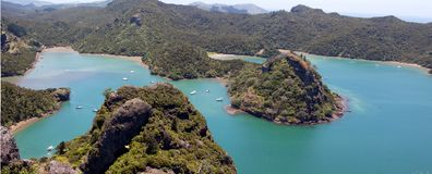 Whangaroa Harbour royalty free stock image
