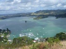 Whangaroa, Nieuw Zeeland Stock Foto's