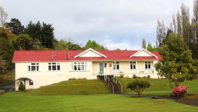 Whare Ora. Use to be a Country Maternity Hospital for the hill farming commumity of Hunterville Stock Image