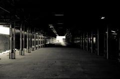 Wharehouse vuoto Immagini Stock