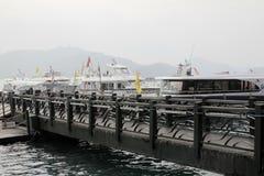 wharf Stockbild