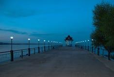 wharf Stockfotografie