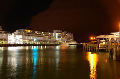 Wharf Auckland Royalty Free Stock Images
