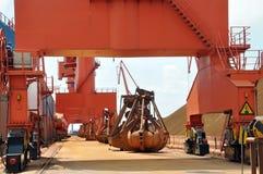 Wharf Crane Stock Images
