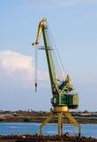 Wharf crane Stock Image