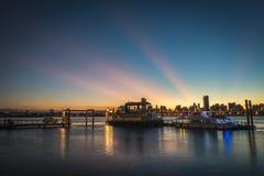 Wharf Dadaocheng stock image