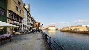 Wharf, Gdansk stock video