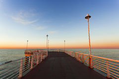 From the wharf of Marina di Massa Royalty Free Stock Images