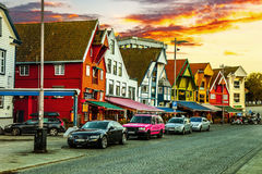 Wharf of Stavanger Royalty Free Stock Image