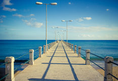 Wharf to the Infinite Royalty Free Stock Photos