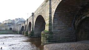 Wharfe bro Wetherby Arkivbilder