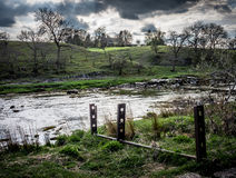 Wharfedale near Grassington HDR Royalty Free Stock Image
