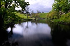 Wharfedale paisible Photo stock