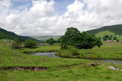 Wharfedale in the Yorkshire Dales Royalty Free Stock Image