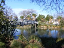 Wharped-Brücke lizenzfreies stockbild
