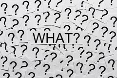 Free What And Question Marks Stock Images - 30115474