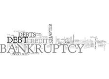 What Bankruptcy Can Do For You And What It Can T Doword Cloud Royalty Free Stock Photos