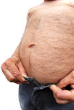 What A Big Belly You Have Stock Image